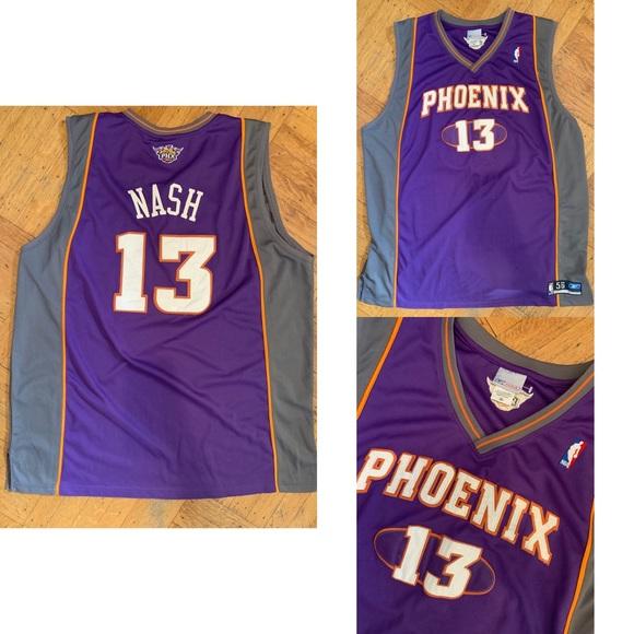 best website 9b5e3 b081b NBA Steve Nash Phoenix Suns Jersey 🔥